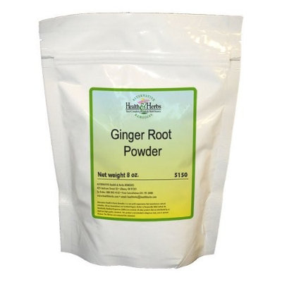 Alternative Health & Herbs Remedies Ginger Root Powder, Co, 8-Ounce Bag