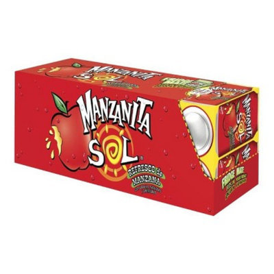 Mountain Dew Manzanita Sol Apple Soda 12 oz, 12 pk