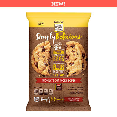 Nestlé® Toll House® Simply Delicious Chocolate Chip Cookie Dough