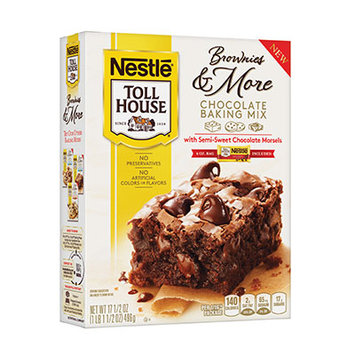 Nestlé® Toll House® Chocolate Baking Mix With Semi-sweet Chocolate Morsels