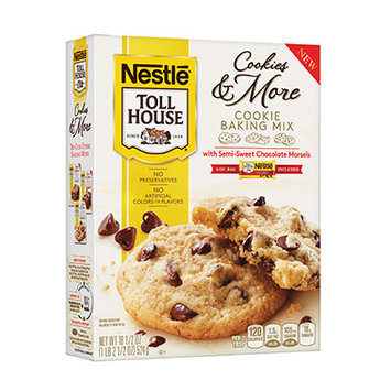 Nestlé® Toll House® Cookie Baking Mix With Semi Sweet Chocolate Morsels