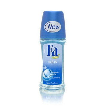 Fa Deodorant Roll-On - Aqua 50ml/1.7oz