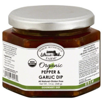 Rothschild 13 oz. Organic Pepper & Garlic Dip Case Of 6