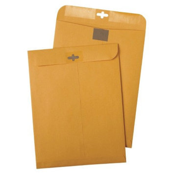 Quality Park Postage Saving ClearClasp Envelopes - Brown (100 Box)
