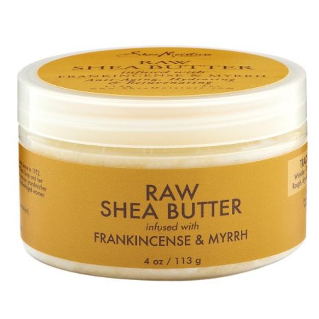 SheaMoisture Raw Shea Butter Frankincense & Myrrh