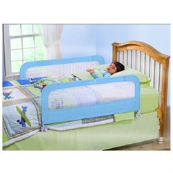 Babies R Us Summer Infant Sure & Secure Folding Bedrail - Double Blue