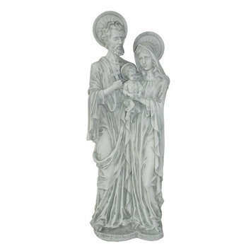 Design Toscano 8 in. W x 6 in. D x 21.5 in. H Holy Family Religious Statue KY53041