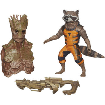 GUARDIANS OF THE GAL Marvel Guardians Of The Galaxy Platinum Series Rocket Raccoon Figure 6