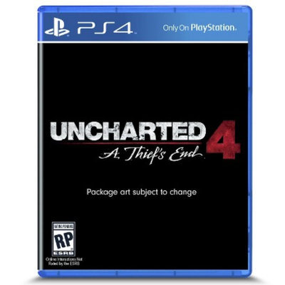 Uncharted 4: A Thief's End (PlayStation 4)