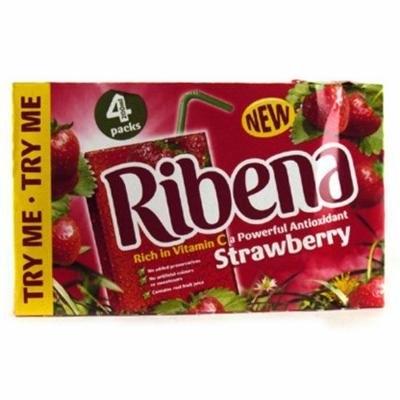 Ribena Ready To Drink Strawberry 4 Pack 800g
