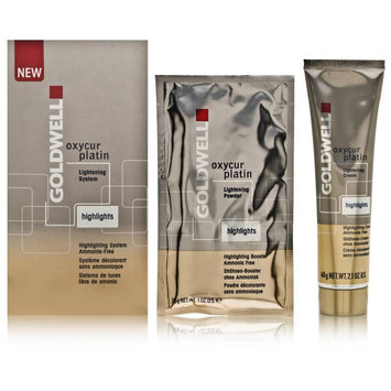 Goldwell Oxycur Platin Lightening System Highlights Kit