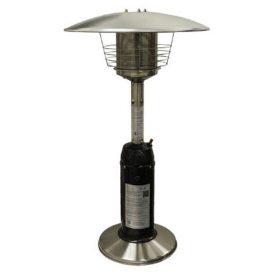 Target Home Garden Sun Tabletop Patio Heater - Black and Stainless Steel