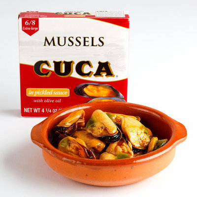 Mussels In Pickled Sauce