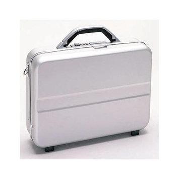 TZ Case NC80 Aluminum 14in Compact Size Laptop Case - Silver NC-80S