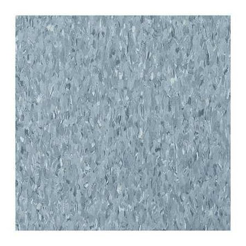ARMSTRONG FP51903031 Vinyl Composition Tile,45sq. ft, Gray
