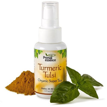 Organic Super Tea Turmeric Tulsi Primal Essence 1.5 oz Spray