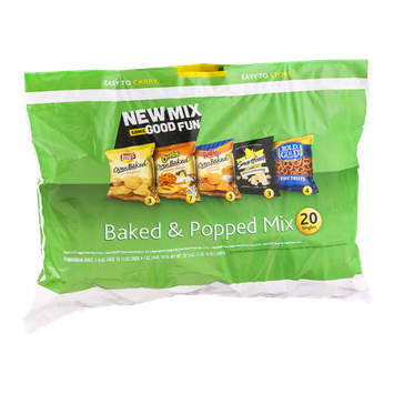 Frito-Lay Baked & Popped Mix Variety Pack - 20 CT