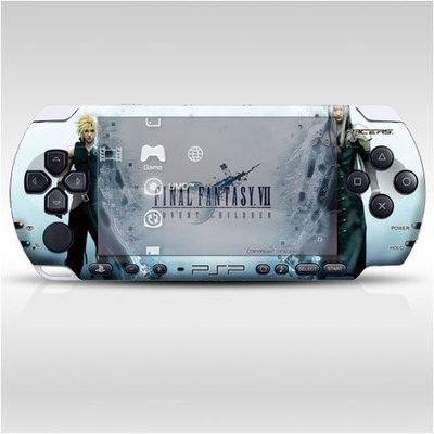 Pacers Final Fantasy Decorative Protector Skin Decal Sticker for PSP-3000, Item No.0858-08