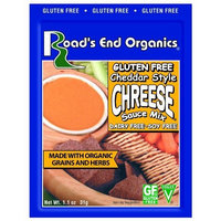 Road's End Organics Gluten Free Cheddar Chreese Mix, 1.1-Ounce Pouches (Pack of 12)