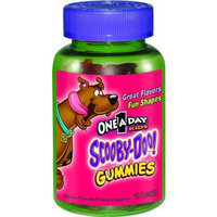 One A Day Kids Scooby Doo Gummies Multivitamin Supplement