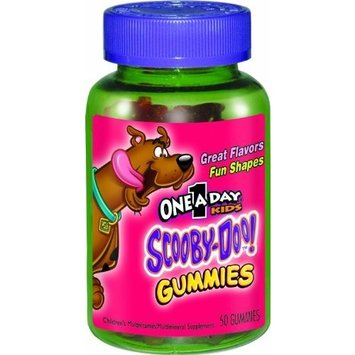 One A Day Kids Scooby Doo Gummies Multivitamin Supplement, 50 Count