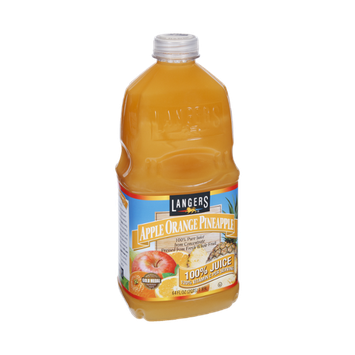 Langers Apple Orange Pineapple 100% Pure Juice