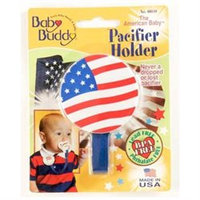 Baby Buddy American Baby Pacifier Holder Color: US Flag