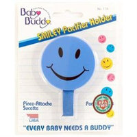 Baby Buddy Smiley Pacifier Holder - Blue - 1 ct.