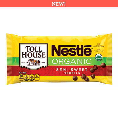 Nestlé® Toll House® Organic Semi Sweet Chocolate Morsels