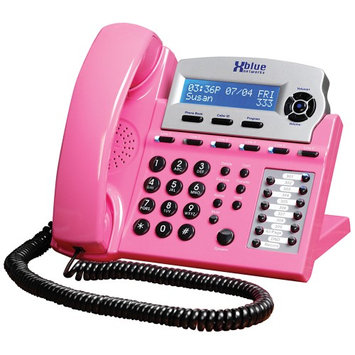 Xblue X16 Backlit Digital Telephone - Pink