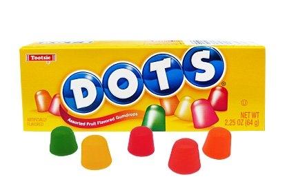 Dots Gumdrops Assorted Fruit Flavor