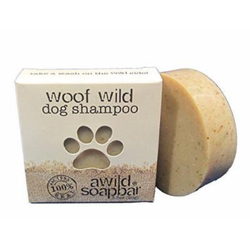 A Wild Soap Bar Woof Wild Dog Shampoo