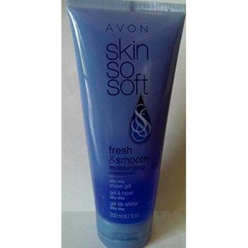 Avon Skin So Soft Fresh & Smooth Silky Stay Shave Gel with Moisturizing Complex 6.7 fl oz