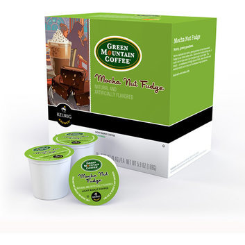 Green Mountain Coffee Mocha Nut Fudge K-Cups