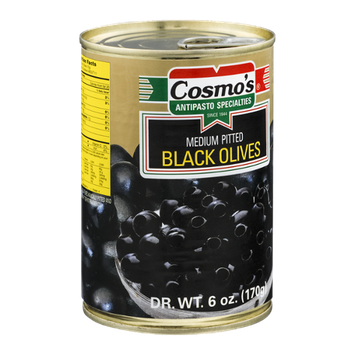 Cosmo's Black Olives Medium Pitted