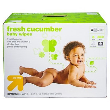 up & up™ Cucumber Baby Wipes, 800 Count