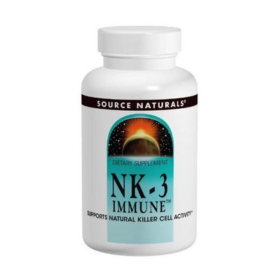 Source Naturals NK-3 Immune with Vitamin C 250mg, 60 Capsules