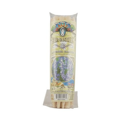 Wally's Natural Products Wallys Natural Products 662106 Paraffin Ear Candles, Lavender - 12 Candles