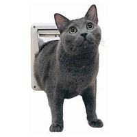 PetSafe P1-4W-11 Four Way Cat Flap - White
