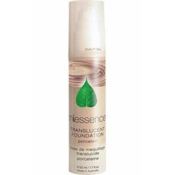 Miessence Porcelain Translucent Foundation (Very Fair Skin) - Certified Organic