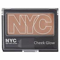 N.Y.C. New York Color Cheek Glow Single Pan Blush, Sutton Place Peach 656A