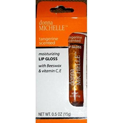 Tangerine Scented Moisturizing Lip Gloss, With Beeswax & Vitamins C&E, 0.46 Oz