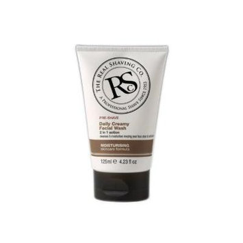 The Real Shaving Co. Pre-Shave Daily Creamy Facial Wash 4.23 oz (Pack of 6)