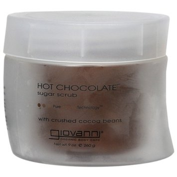 Giovanni Hot Chocolate Sugar Scrub with Crushed Cocoa Beans