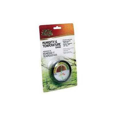 Rzilla Pet Gauge Humidity Temperature Dial
