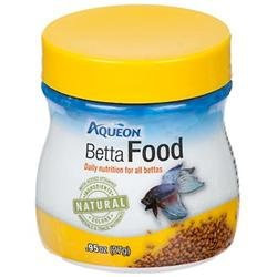 All Glass Aquarium Aqueon AQE100009449 Betta Food .95 oz.
