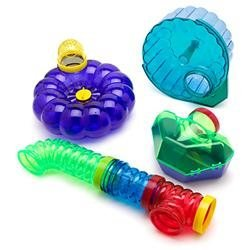 Super Pet - Crittertrail Super Pet CritterTrail Activity Accessory Kit for Hamster/Gerbil/Mouse