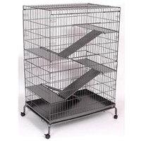 Prevue Hendryx Jumbo Steel Cat/Ferret Cage - 36x24x48