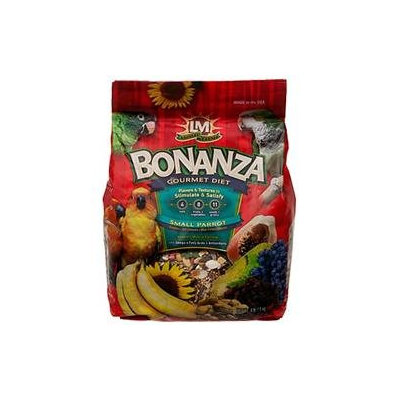 L/m Animal Farms LM Animal Farms Bonanza Small Parrot Gourmet Diet: 4 lbs