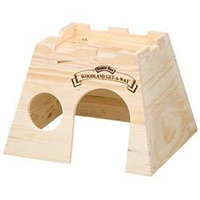 Topdawg Pet Supply Super Pet Woodland Get A Way Hideout - Rat/Hamster/Gerbil/Sugar Glider
